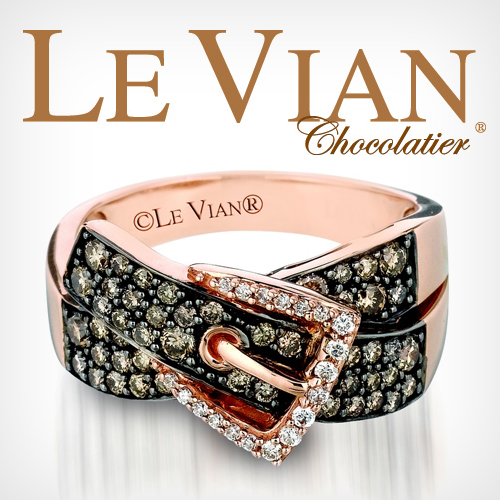 Le Vian Chocolatier brings you Chocolate Diamonds. Available at Connie and V. Cross Jewelers.